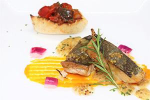 【期間限定ランチ】カガミ鯛コンフィのロースト 粒マスタードソースイメージ