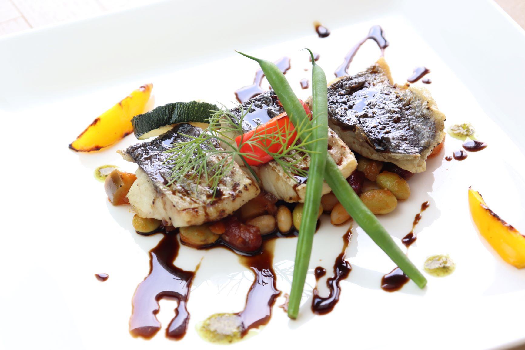 【期間限定ランチ】カマスと野菜のグリル バルサミコソースイメージ